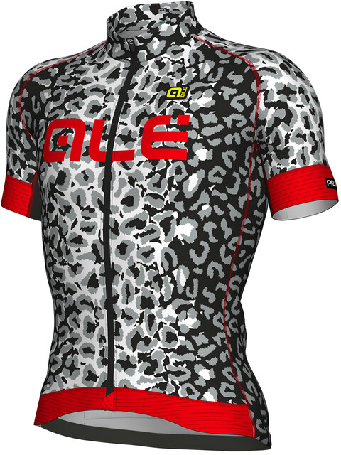 Alé Cycling Graphics PRR Agguato Short Sleeve Jersey Men white-black-red